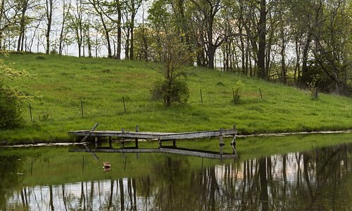 The fishing and swimming pond. -Photo by Freytography