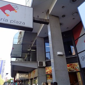 Entrada frente a la Plaza Rivadavia
