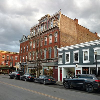 Emerge Gallery is located right in the heart of the historic Village of Saugerties, NY