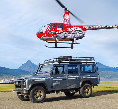 Off road + Helitour!