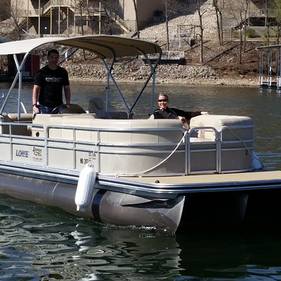 2016 Lowe SS270 tritoon with 150HP Mercury outboard.