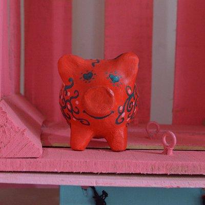 Cochinitos artesanales para fomentar el ahorro