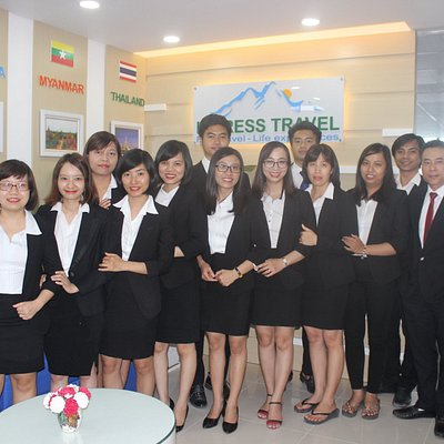 Vietnam Tours -  Impress Travel Team in the Hanoi head office.
