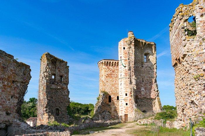 Le château de Hérisson