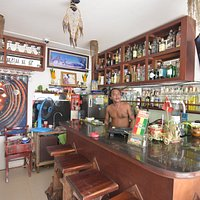 small little shop for excellent drinks, play your own music if you want