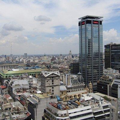 Vistas desde el edificio Comega