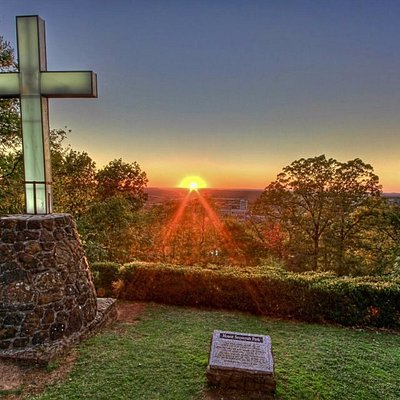 One of many scenic views at Mount Sequoyah...a unique hideaway above the city.