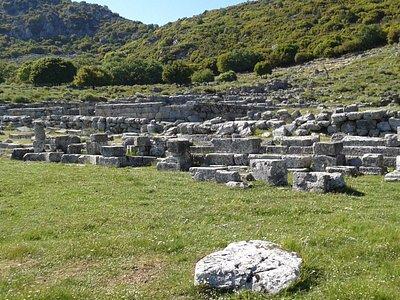 Ο αρχαιολογικός χώρος .