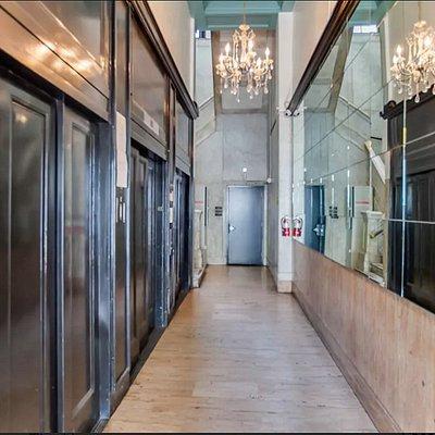 Santa Fe Loft Art Deco Lobby