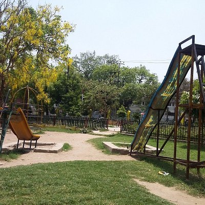 children's play area at Lucknow Gautam Buddha Park