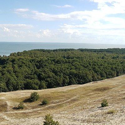 панорама озера со смотровой площадки