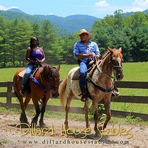 our relaxing horseback journey