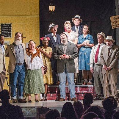 "Main Street Theatre's performance of ""Second Samuel"""