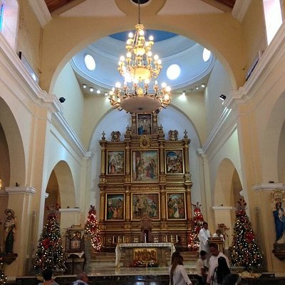 The Cathedral of Our Lady of Candelaria. In Mayagüez, Puerto Rico