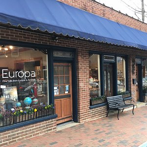 Europa: Fine Gifts from Europe and America at 125 Cherry Street, Black Mountain, NC