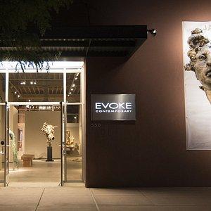 Exterior photo of EVOKE Contermporary.