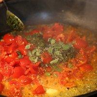 Sauce für Muschelgericht