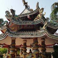 Deel van de tempel