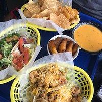 Banane plantain - Nachos et Tacos Crevette et poulet