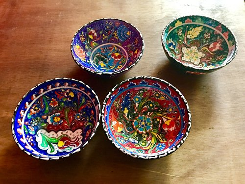 hand paint small bowl