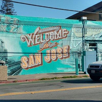 """Welcome to San Jose"" Mural"