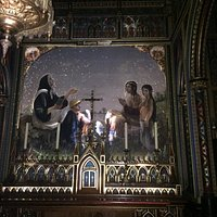 Basilica painting as it comes to life
