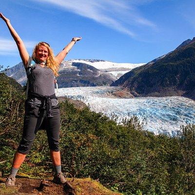 Mendenhall Glacier is something to celebrate!