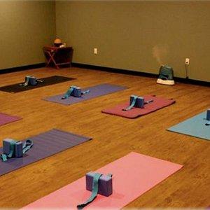 Hot Yoga studio, Fitness studio