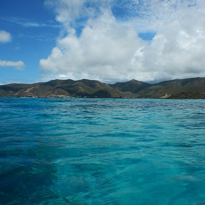 view from cades reef