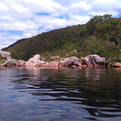 Poço da cachoeira do Rio Preto