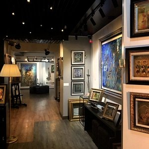 Arev Art Gallery interior by artist Arev Petrosyan. Welcome!