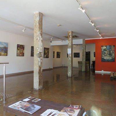 ギャラリーの内部の様子