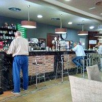 Main Bar area.  Bar Central.