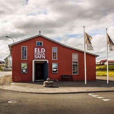 Eldfjallasafn. This establishment was build in 1901 In 2009 used as the Volcano Musem.