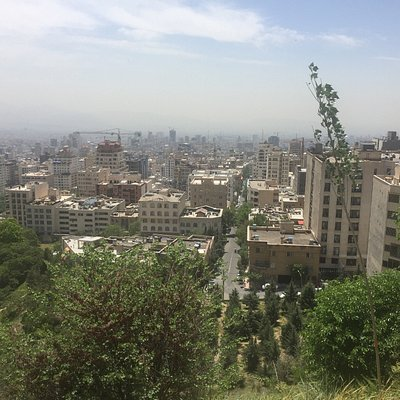 View on Tehran, from Tochal