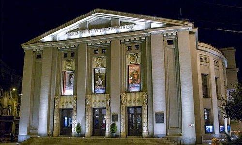 Wejście główne do Teatru Śląskiego