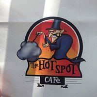 The characteristic logo on the take-out bag