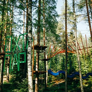 Веревочный парк «Охта Парк»