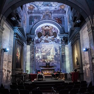 The Theater: The Baroque church of Sant'Onofrio