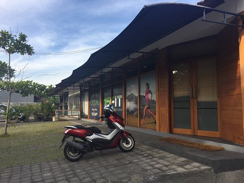 The 15FIT Bali Fitness Training Studio, located in a relaxed residential and green belt area of