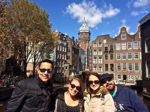 """""""Little Venice"""" in Amsterdam is the perfect, romantic scenario!"""