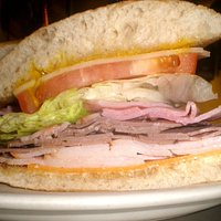 The Corner Club - served Cold on  Toasted Ciabatta Bread.