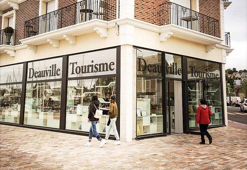 Deauville Tourisme ouvert tous les jours de l'année sauf 25 déc. et 1er janv.