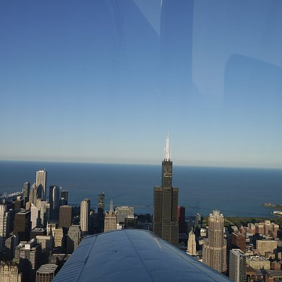 Chicago by air