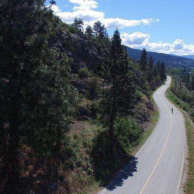 Road Riding on North Naramata Road