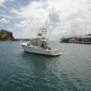 Marlin Master Deep Sea Sport Fishing in Grenada Charters. Full day or Half day trips available.
