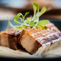 Belly pork and honey