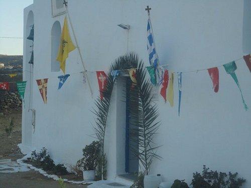 Ο Άγιος Ακεψιμάς, μοναδική εκκλησία στον Ελλαδικό χώρο με αυτή την ονομασία, χρονολογείται από 6