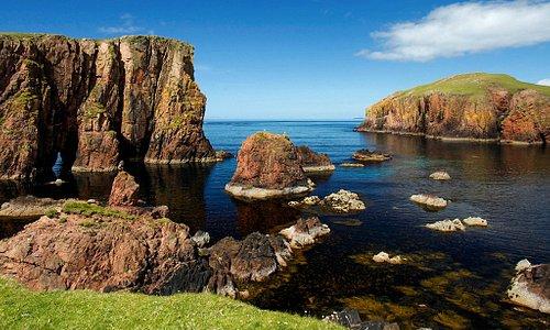 Hams of Roe, Muckle Roe, Shetland.