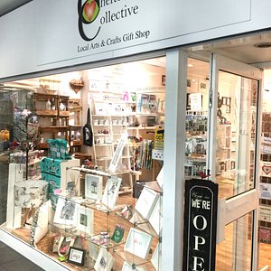 An Arts & Crafts Gift Shop in the centre of Cheltenham - all made by local artists.
